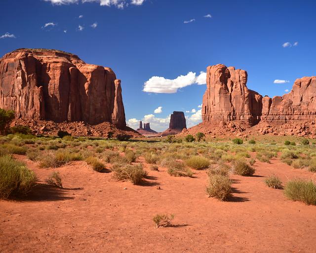 Paisajes de Monument Valley