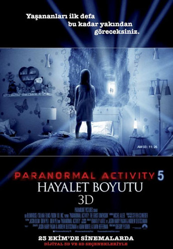 Paranormal Activity 5: Hayalet Boyutu - Paranormal Activity: The Ghost Dimension (2015)