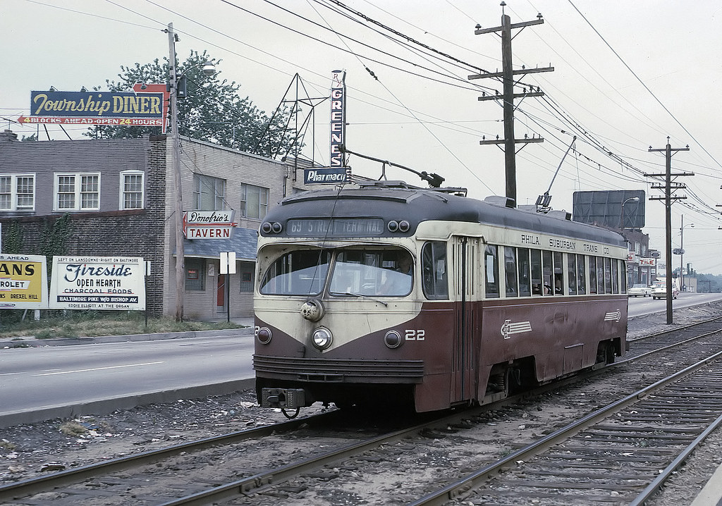 Pstc 22 Pcc On Ardmore Rail Division Along West Chester