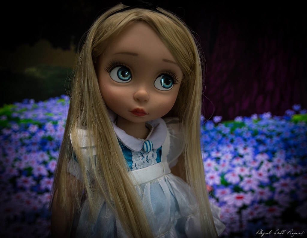 Alice disney Animator ooak repaint customisation custo pou… | Flickr