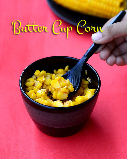 Butter cup corn recipe