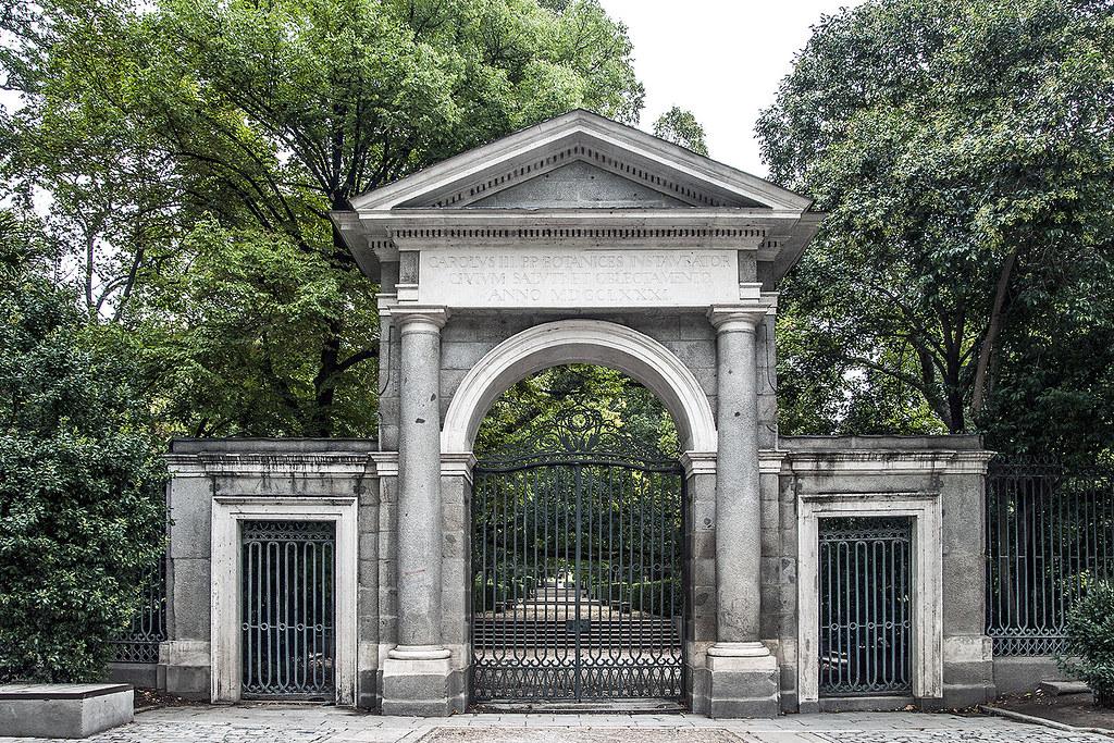 Real jard n bot nico de madrid puerta del rey carolvs for Jardin botanico de berlin