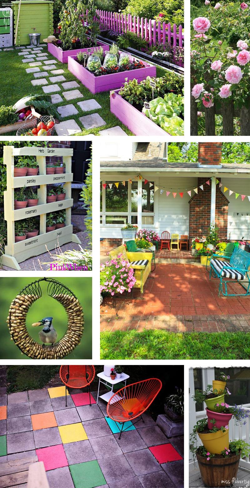 Tuin inspiratie, garden cozy, zomer
