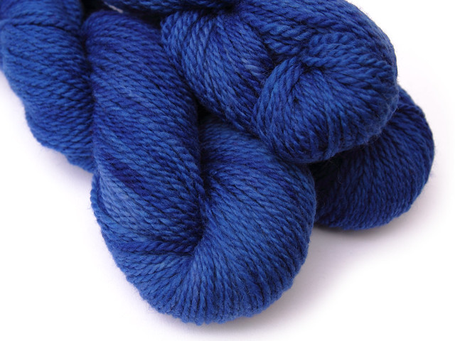 Awesome Aran British BFL in Electric Blue