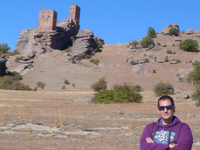 Sele en el castillo de Zafra (Guadalajara)