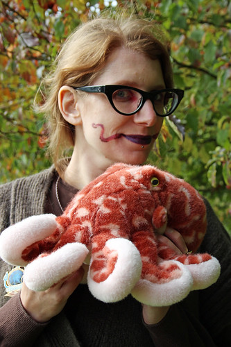 Octopus Day make-up