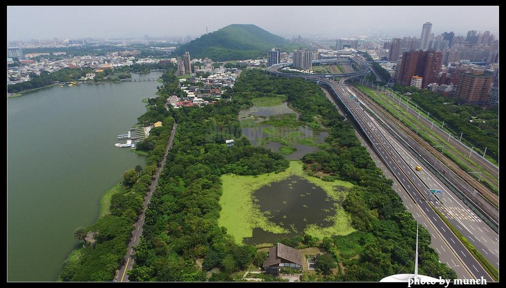 高雄藍帶計畫下,修復的洲仔濕地。