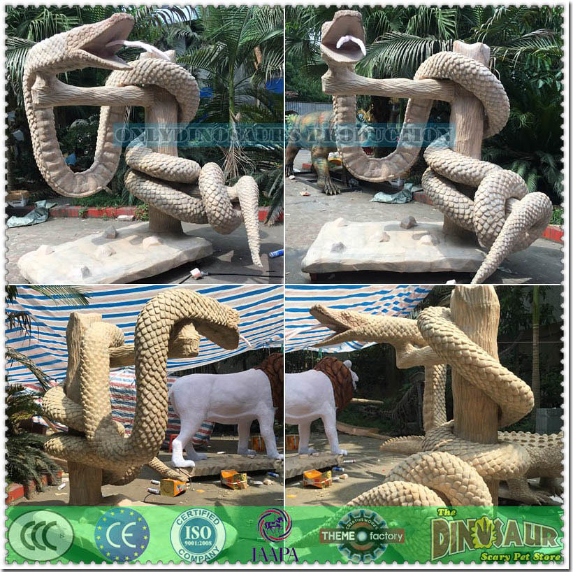 Snake Model Silicone Skin-Grafting