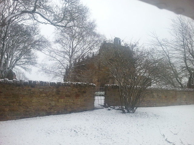 Rosslyn Chapel in the Snow
