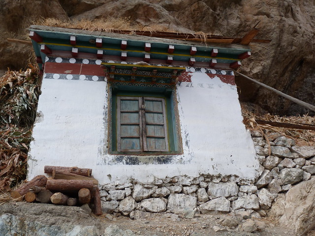 Casa tibetana en Yunnan (China)