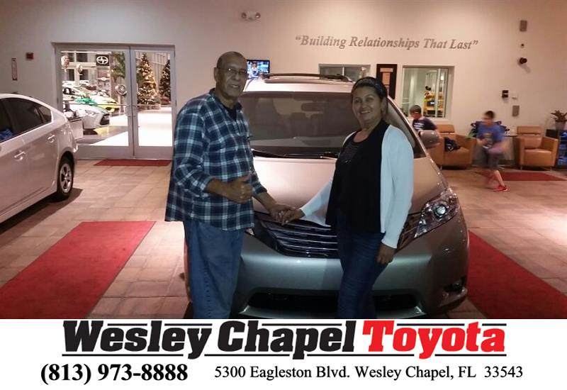 Happy Anniversary To Rafael On Your Toyota Sienna From A