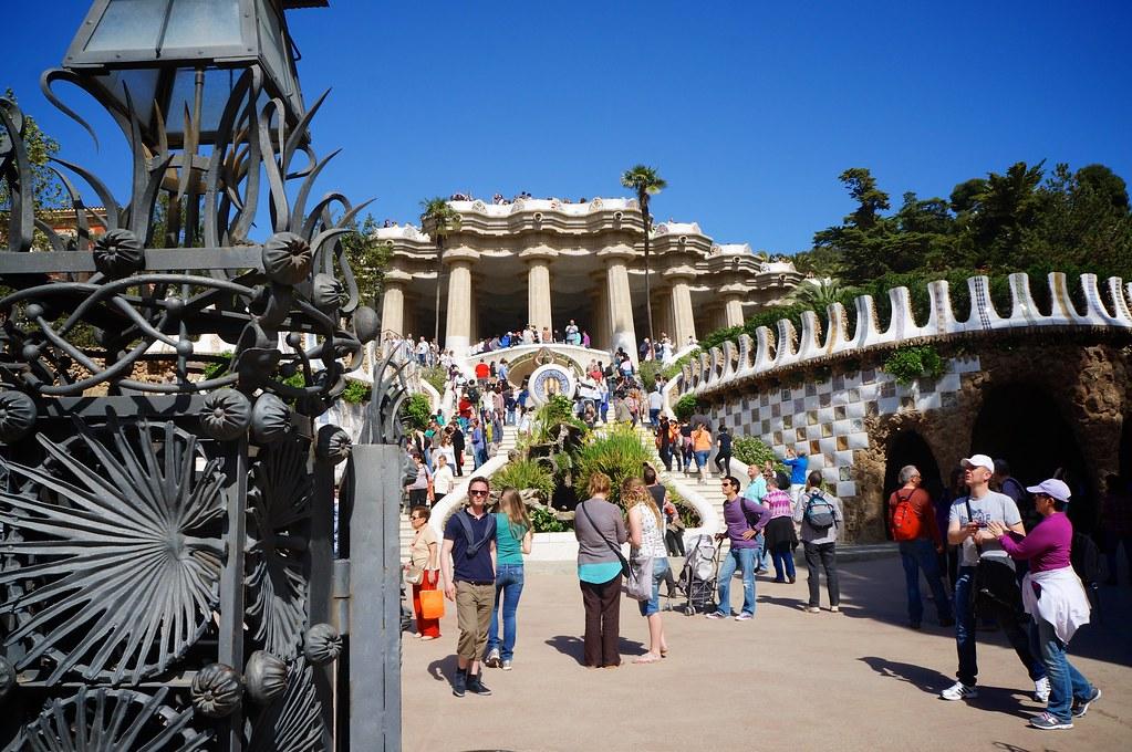Parc Guell entrance