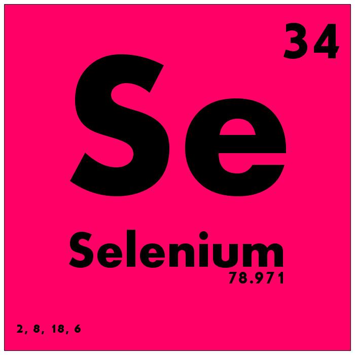 034 Selenium Periodic Table Of Elements Watch Study