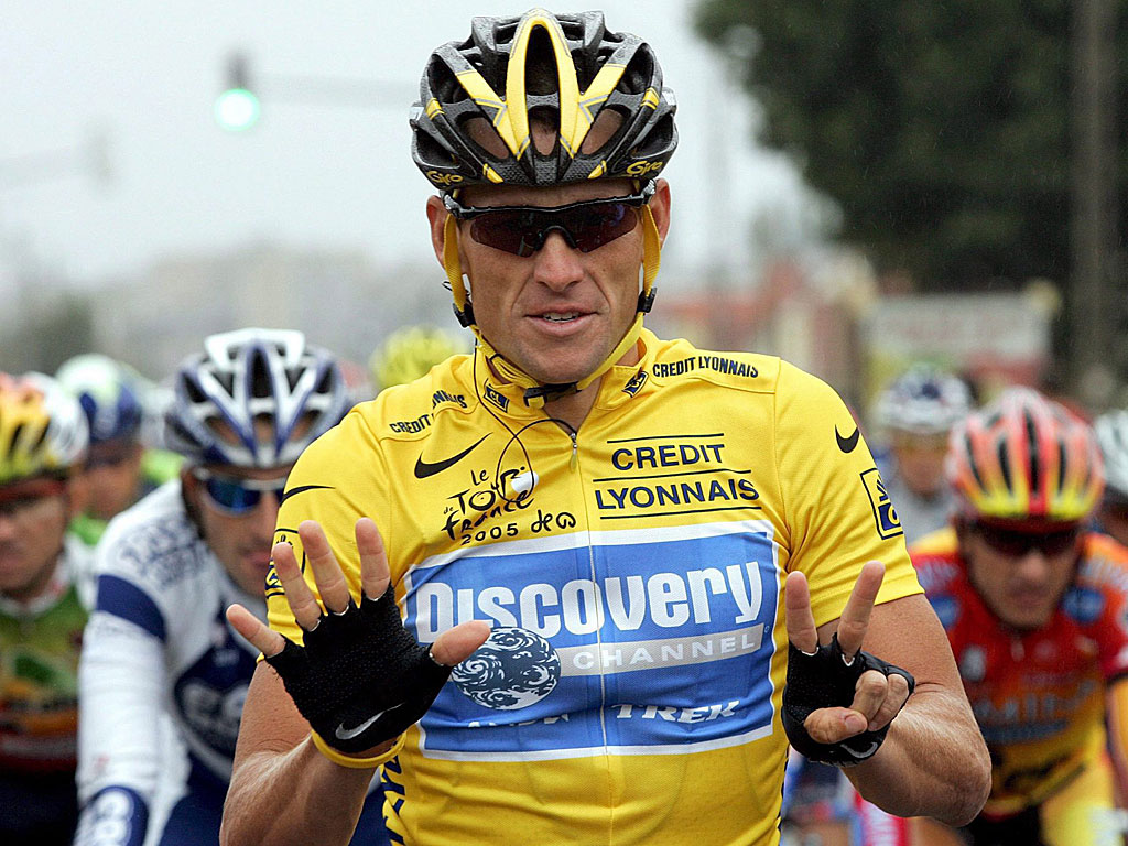 O Lance Armstrong την εποχή της -ψεύτικης- παντοδυναμίας του