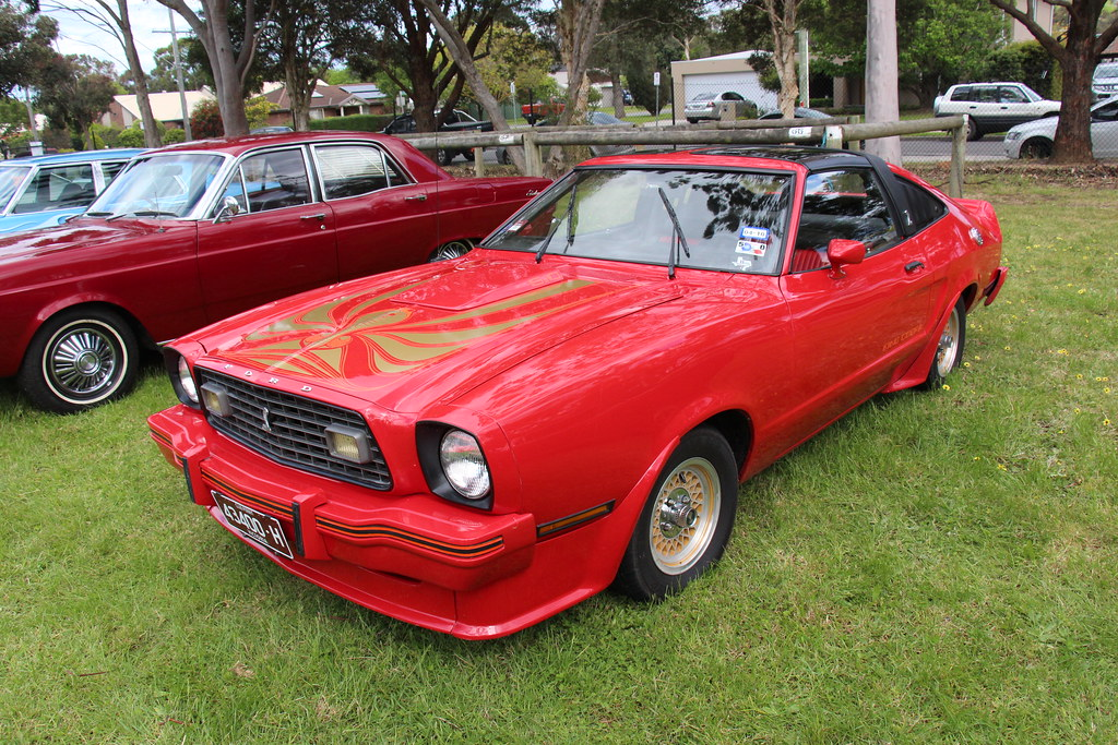 Lee Iacocca Mustang >> 1978 Ford Mustang II King Cobra Hatchback | Bright Red ...