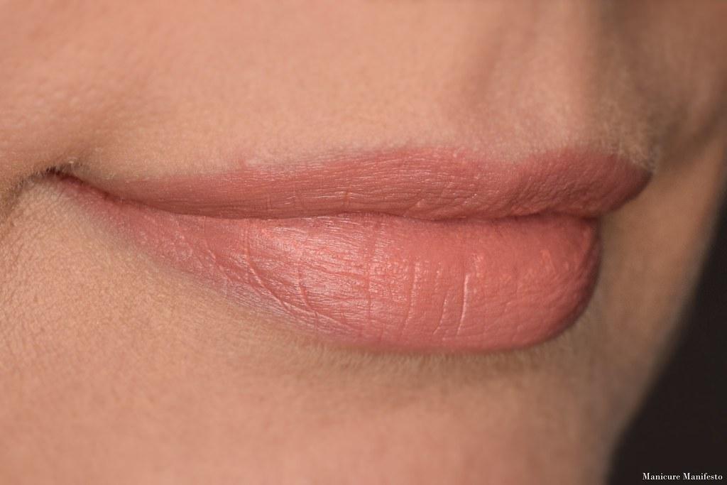 Howl Cosmetics Brulee lipstick swatch