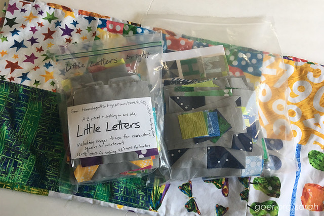 How to decide which WIP/UFO quilt projects to purge. by Sarah at Sarah Goer Quilts