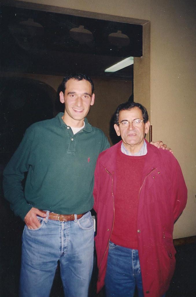 Juan con Mariano Haro. Foto 070.