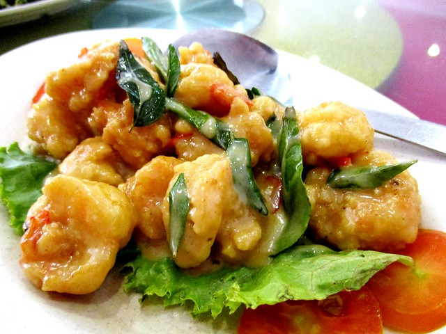 Ming Mei Shi creamy butter prawns 1
