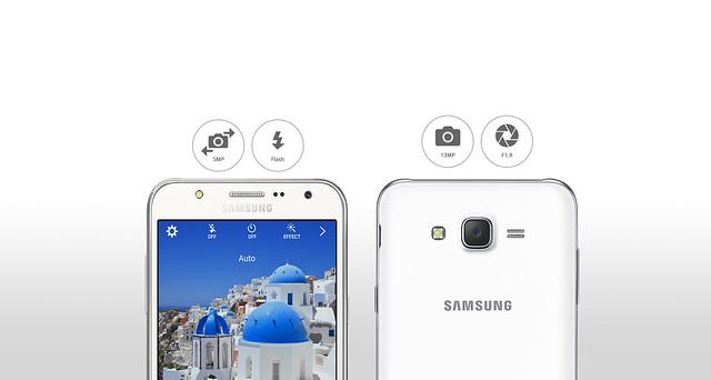 Samsung Galaxy J5 có camera 13MP nổi trội