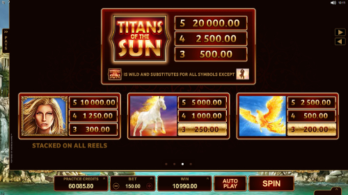 free Titans of the Sun - Theia slot payout