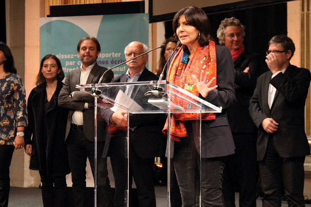 Anne Hidalgo - Prix Clara 2015