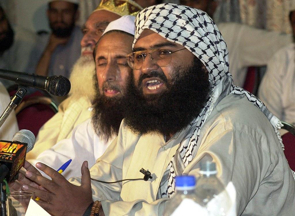 Jaish-e-Mohammad Chief Maulana Masood Azhar/AFP File Photo