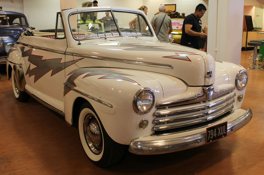 1948 Ford Custom Greased Lightning Grease Motion