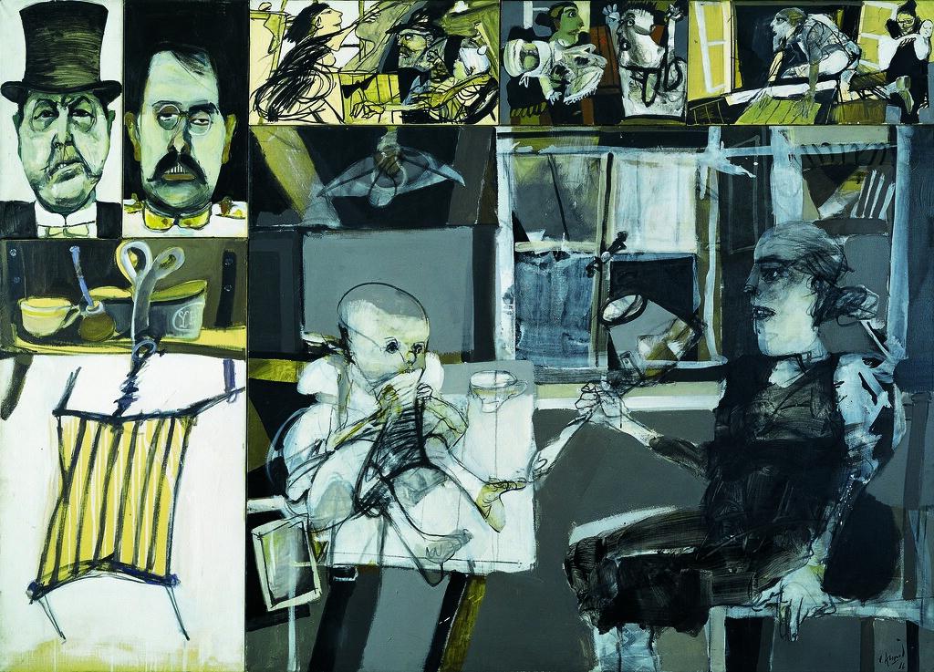 X 3 2 >> Carlos Alonso: Sin pan y sin trabajo (1966), acrílico sobr… | Flickr