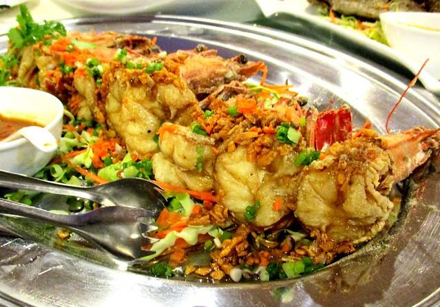 Flavours Thai Kitchen giant prawns