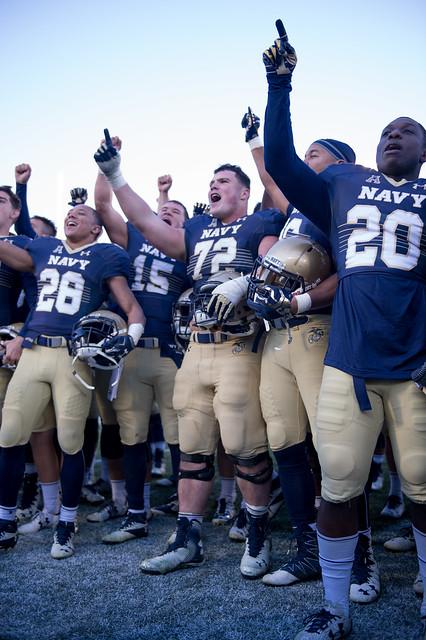NCAAF Navy v Tulsa 145
