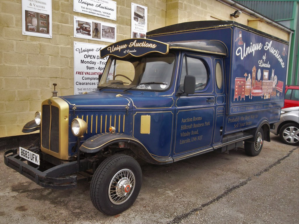 Vintage Truck For Sale >> Ollerton replica vintage van on Freight Rover / Sherpa cha… | Flickr