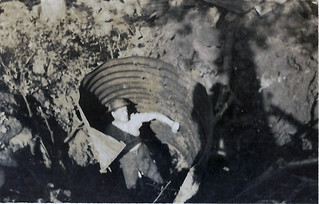 Jack in Dugout after bomb fell. 3 Coy wounded