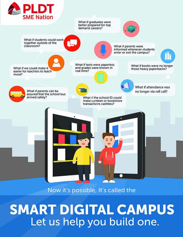 Smart Digital Campus by PLDT SME Nation - DavaoLife.com