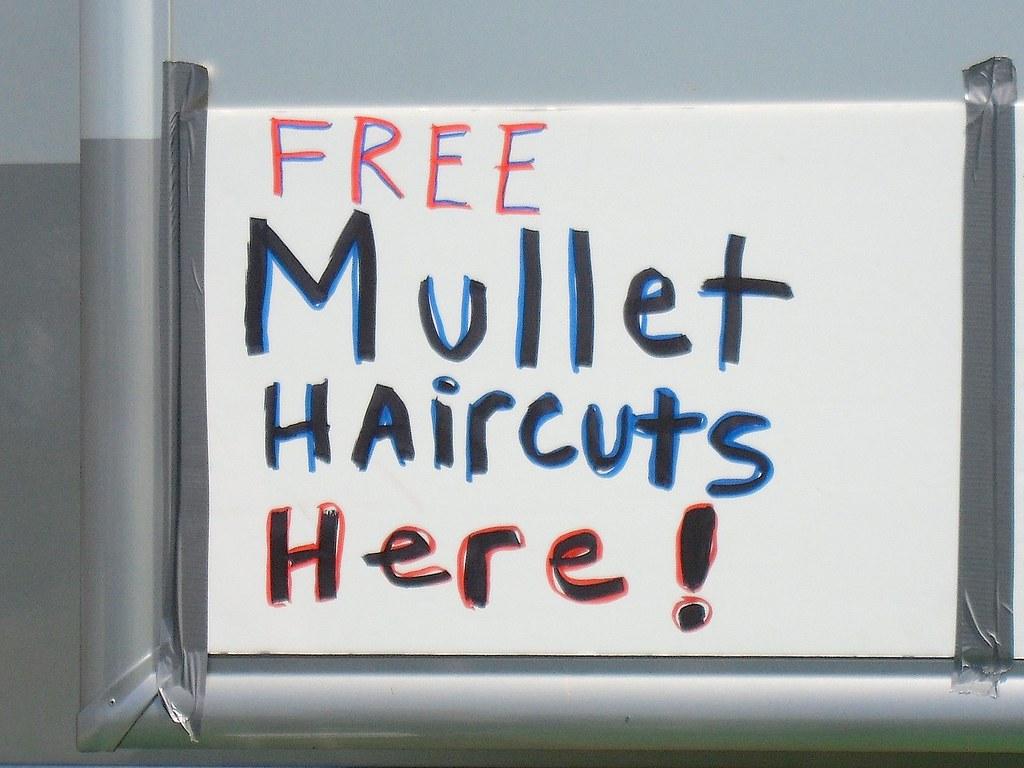 Free mullet haircuts