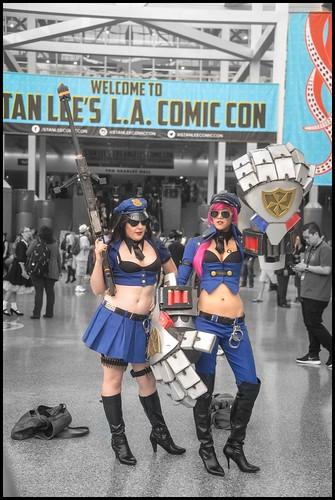 Costumes in Color - LA Comic Con 2016