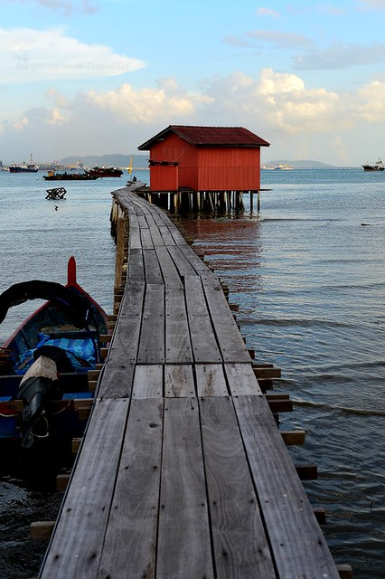 One of the most photographed spot in the Tan Jetty