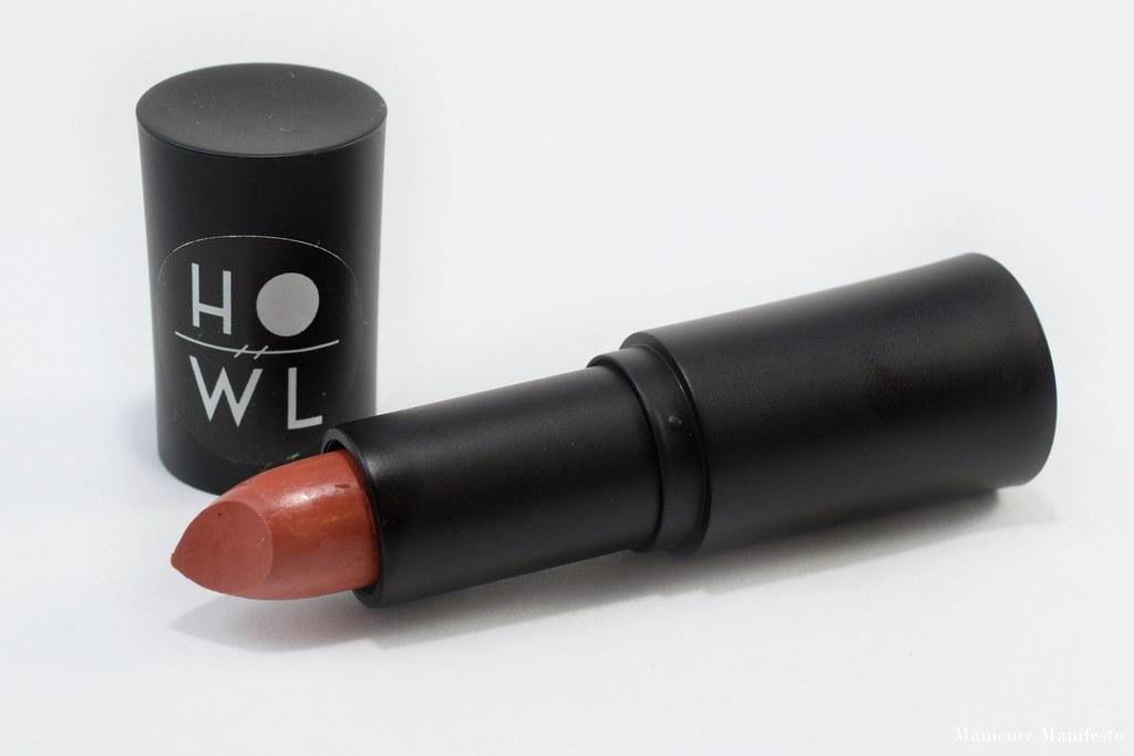 Howl Cosmetics Brulee lipstick