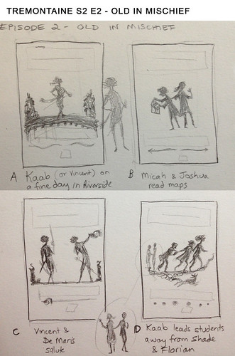 Tremontaine S2E2: Thumbnails