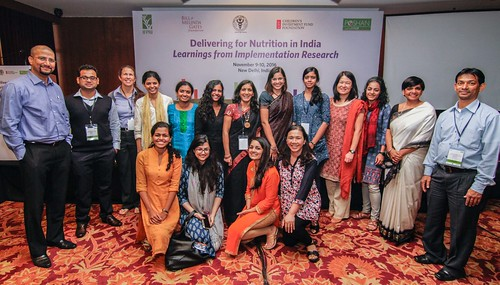 Delivering for Nutrition in India: Learnings from Implementation Research (November 9-10, 2016)