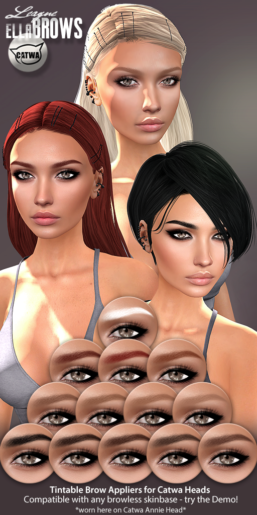 League Ella Brow Appliers for Catwa