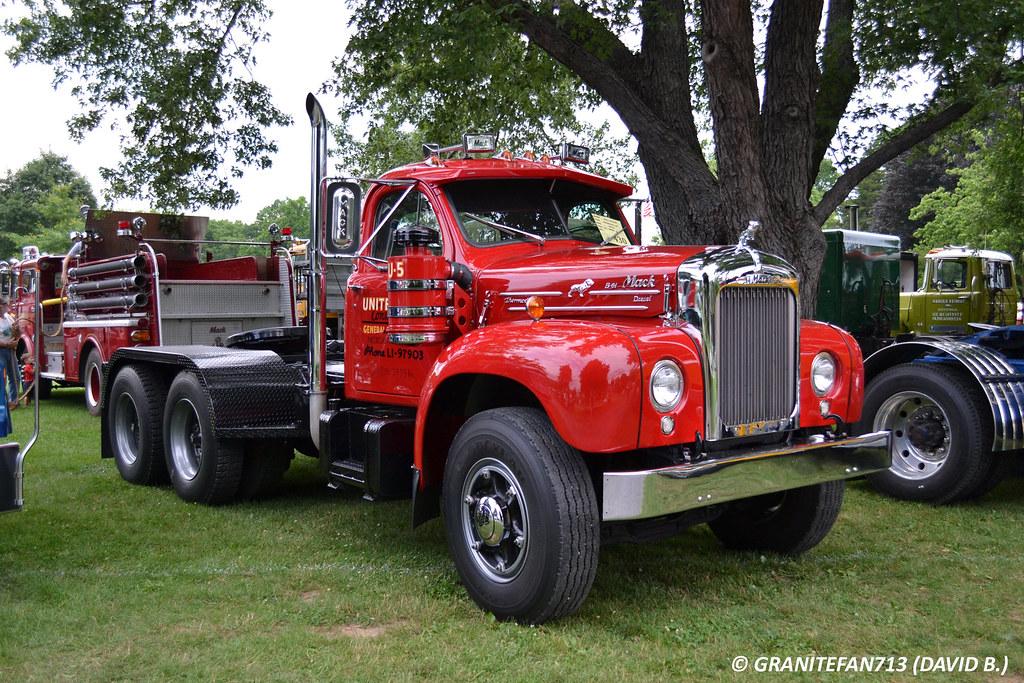 B 61 Mack Trucks : Mack b tractor trucks buses trains by