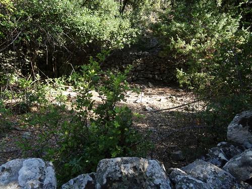 Une des ruines des bergeries de l'Ancinu
