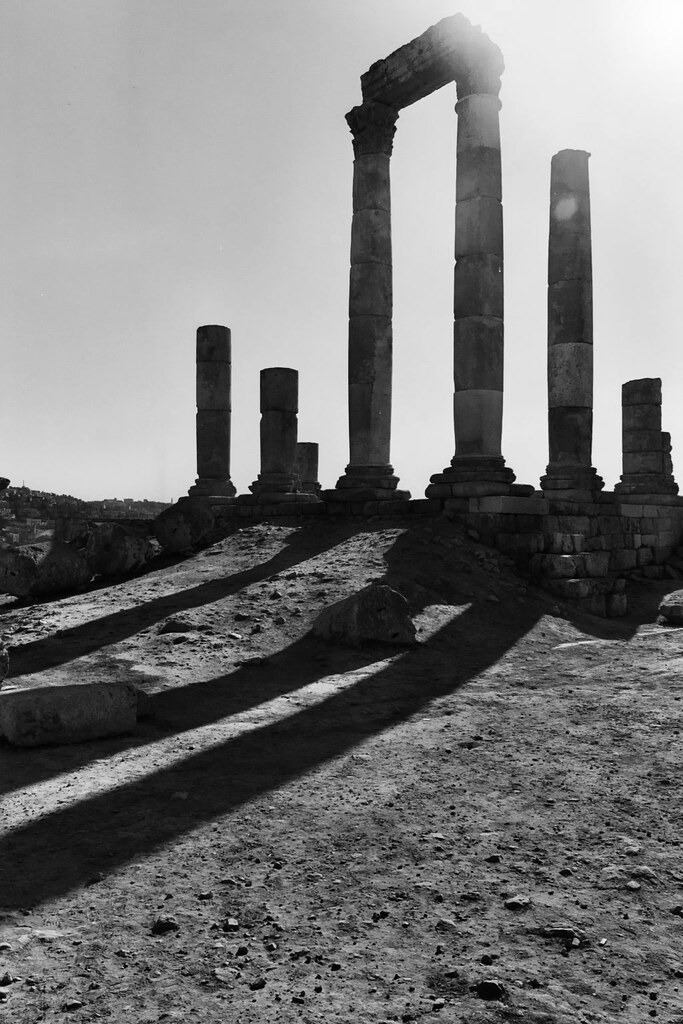 Timeless Roman remains in Amman, Jordan