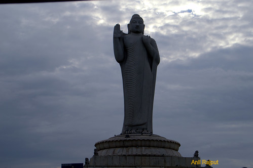 Lord Buddha's Tallest statue monolithic , Hyderabad