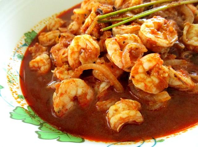 Khadijah's Kitchen sambal tumis prawns 2