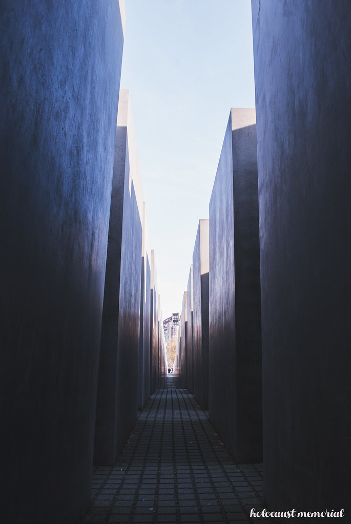 Berlin Holocaust Memorial - Travel Diary
