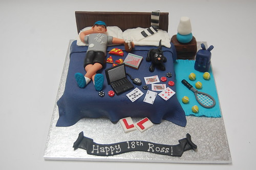 18th Birthday Cake For A Boy Image Inspiration of Cake and
