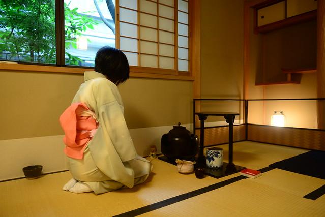 Aprender a hacer la ceremonia del té en Japón