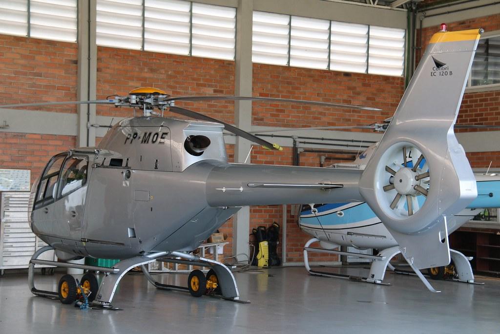 Resultado de imagem para eurocopter 120B PP-MOE